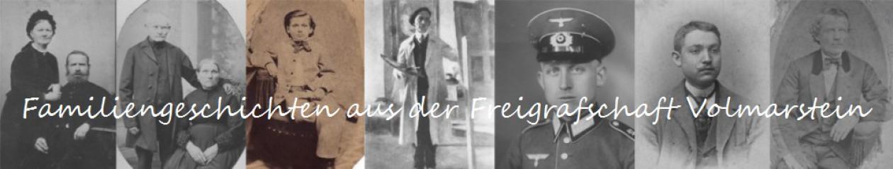 Familiengeschichten aus der Freigrafschaft Volmarstein